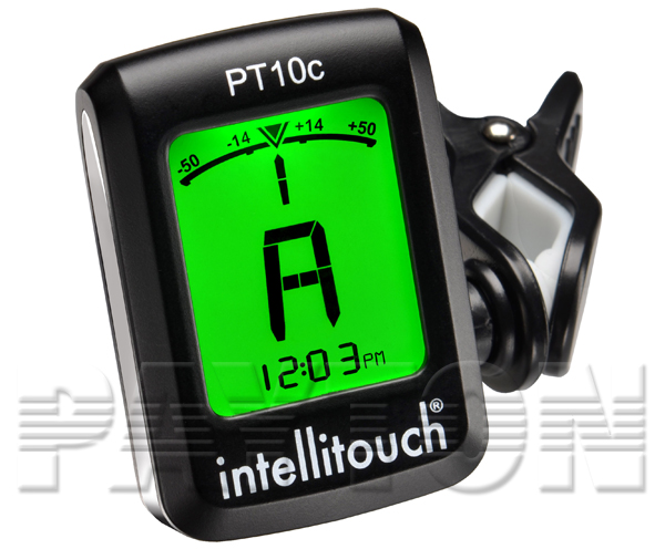 Intellitouch Chromatic Tuner w/Clock PT-10C