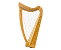 Heather Harp-36 /22 Strings In Bag