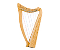 Heather Harp-22 String Carved w/Bag