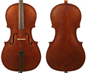 J Francis Cello Outfit-Flamed 4/4