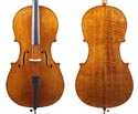 Makers Cello Only-No.3 Stippled Antique w/Pegs 4/4
