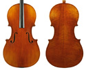 Makers Cello Only-No.3 Antiqued w/Pegs 3/4