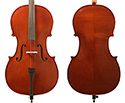 Gliga III Cello Outfit-Nitro Antique Finish 1/2