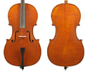 Gliga III Cello Outfit-Oil Antique Finish 4/4