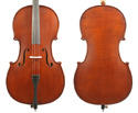 Gliga III Cello Outfit-Oil Dark Antique 1/2