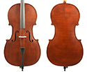 Gliga II Cello Outfit-Dark Antique-4/4