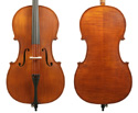 Gliga II Cello Outfit-Antique 4/4