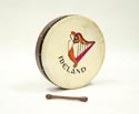 Bodhran-Tunable (40cm) 16in Rosewood Ireland