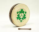 Bodhran-Tunable (40cm) 16in R/W Shamrock