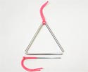 Triangle Chrome with Beater-6 inch