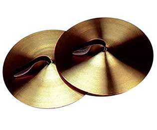 Cymbals-5in w/Leather Strap (Pair)