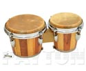 Bongos-WoodenTunable Two Tone Taiwan