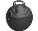 Cymbal Case with Flat Pocket by Reunion Blues. Black leather