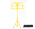 Music Stand with Bag-Yellow
