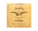 Aquila Uke String Set-NewNylgut  w/Wnd Low G-Tenor 15U