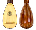 Lute-Rosewood Round Back 8 Course with case