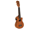Uke-Eddy Finn Flamd Okoume Electric Tenor-11TE