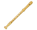Meinel Maple Recorder-Treble