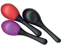 Mini Maraca Single-12cm Long-Black