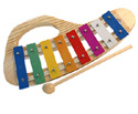 Glockenspiel-Coloured 8 Note C-C