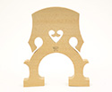 Double Bass Bridge Despiau No. 2 A Treated 3/4