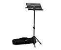 Music Stand-Collapsible Black with Bag