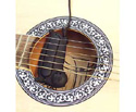 Guitar Pickup-Soundhole Acoustic w/Vol&Tone