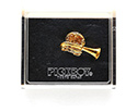 Pickboy Brooch Goldplated- Tuba