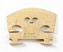 Violin Bridge Aubert France 5 Prepared 1/8