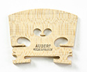 Violin Bridge-Aubert France 5 Low Heart  1/10