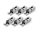 Schaller FR Saddle Set of 6 Chrome  - 20060200