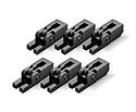 Schaller FR Saddle Set of 6 Black - 20060400