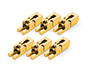 Schaller FR Saddles Set of 6 Gold-20060500