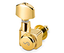Schaller Machines 6-in-L - Locking F-Series - Gold - 10570520