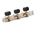Schaller Machines GrandTune Classical Lyre Nickel/Ebony White rollers