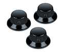 Schaller Guitar FS Knobs (Set Of 3) Black 1182-15010400