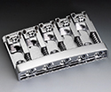 Schaller Bass Bridge (5-Str) 3D Chrome 498-12140200