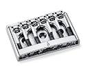 Schaller Guitar Bridge-3D6 Chrome 475-12120200