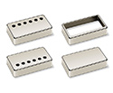 Schaller Guitar P/Up Cover- 6 Hole Nickel - 17010103