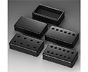 Schaller Guitar Pickup Cover-8 Holes Blk1138 - 17010405