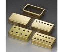 Schaller Guitar Pickup Cover-8 Holes Gld 140 - 17010505