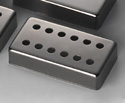 Schaller Guitar Pickup Cover-12Hole Ruthenium-17010607