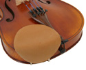 Violin Chinrest  Cover Strad-Pad Beige Seconds Stand