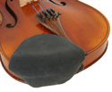 Violin Chinrest  Cover Strad-Pad Black Large