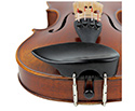 Violin Chinrest Large Over Tailpiece Ebony