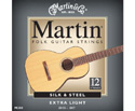 Martin Acoustic Set-Silk & Steel 12-String M200