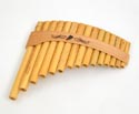 Panpipes Roumaines Curved 15 Note C (G-G)