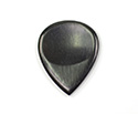 Guitar Pick-Ebony-Scalloped USA
