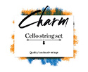 CHARM Cello Set-Chrome/Tungsten 4/4