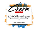 CHARM Cello Set-Chrome/Tungsten 1/10